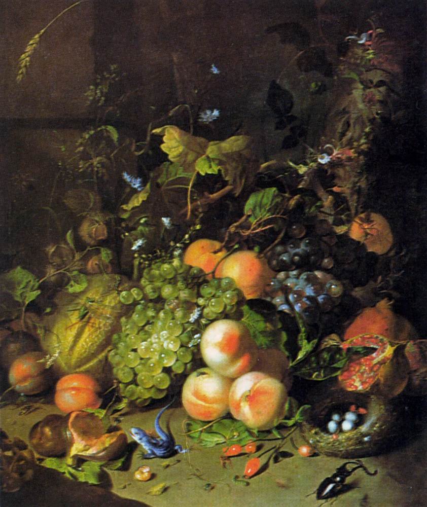 Art & Culture: 104: Flower Still Life, Ruysch