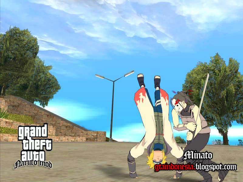 Minato Namikaze  GTA 5 Mod GTA 4 GTA San Andreas GTA Vice City