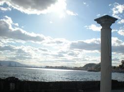 Málaga desde los Baños del Carmen.