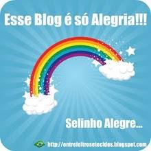 Selinho que recebi do Blog Entre Feltros e Tecidos.