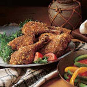 Low Fat Spicy Breaded Chicken