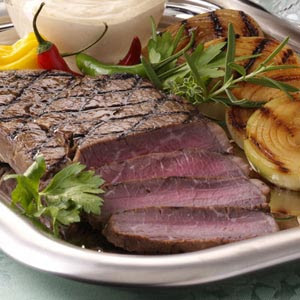 Teriyaki Steak and Onions Recipe