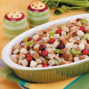 Gourmet Cranberry Nut Stuffing Recipe