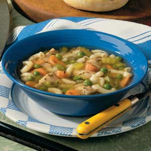Gourmet Chunky Chicken Soup Recipe