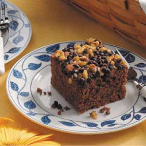 Gourmet Apple German Chocolate Cake Recipe
