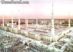 صورة أخرى للمسجد النبوى -المدينة المنورة - المملكة العربية السعودية