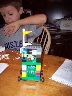 Lego Assyrian Battering Ram!