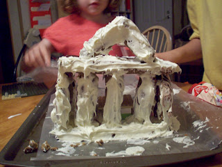 Gingerbread Parthenon