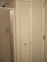 Handmade linen closet