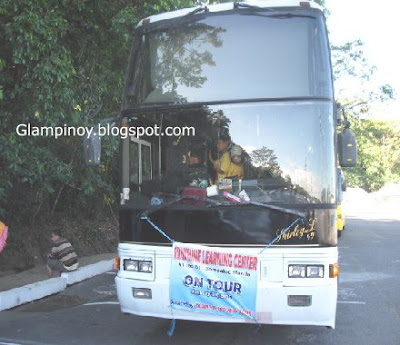 bus from Island Discovery Tours