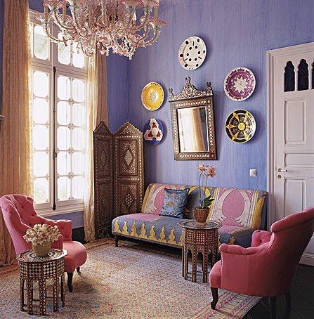 Home Interior Design Moroccan Interior Design