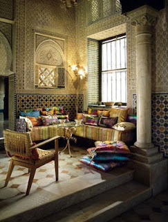 moroccan living room on Getting To Know My True Style
