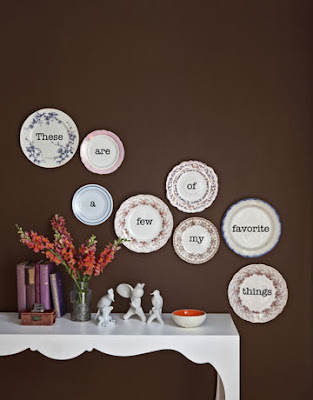 Inspire bohemia beautiful wall decor and art plates part i for Plates to decorate