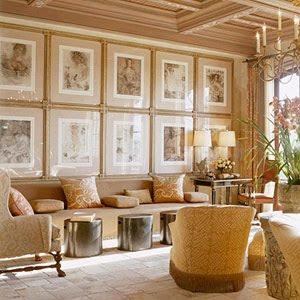 Inspire bohemia artful arrangements for Living room framed art