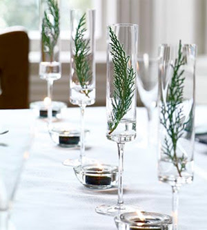 Christmas Table Decorations on Holiday Christmas Table Decorations   Tablescape Decor Via Digsdigs