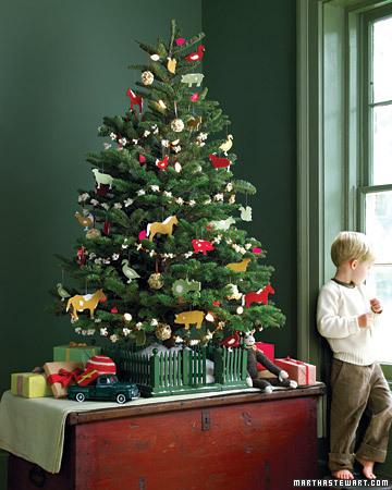 inspire bohemia tabletop christmas trees. Black Bedroom Furniture Sets. Home Design Ideas