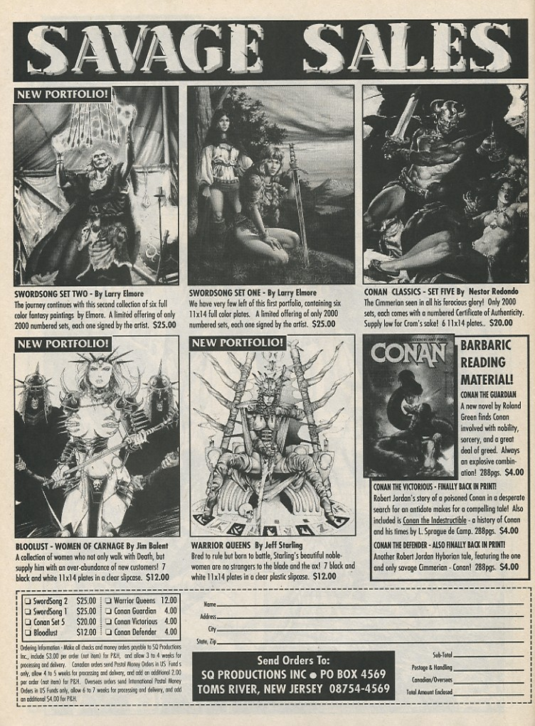The Savage Sword Of Conan Issue #189 #190 - English 62