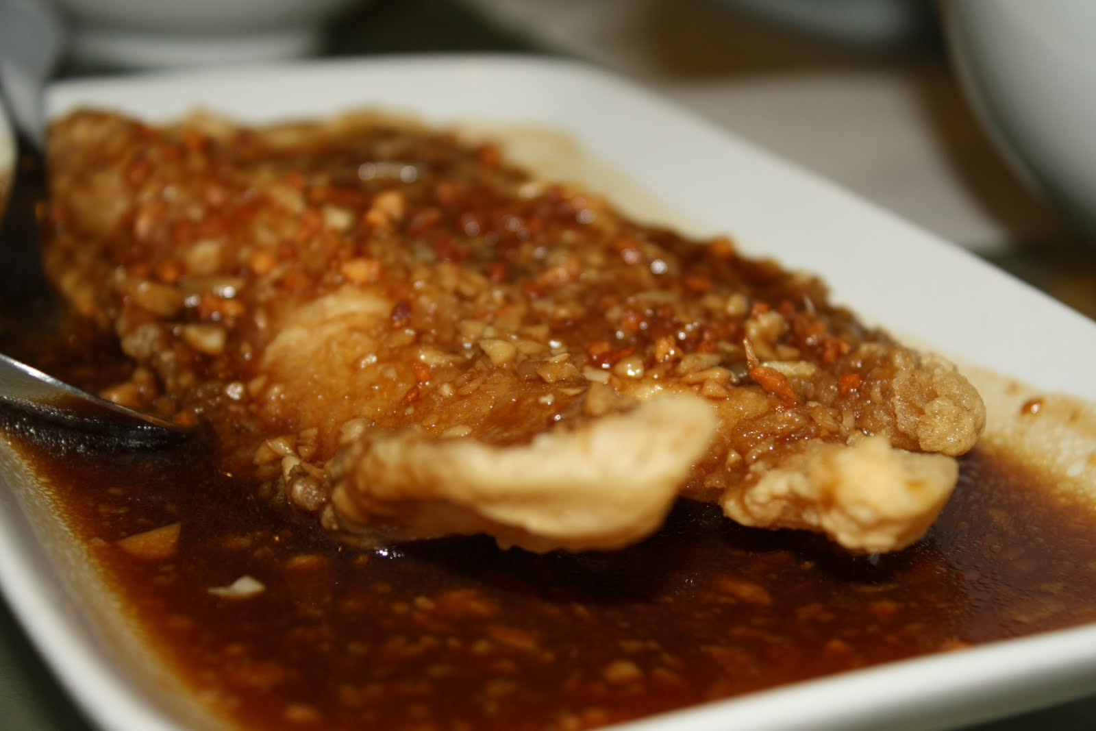 Recipes by metro my little world by mommy rackell for Garlic sauce for fish