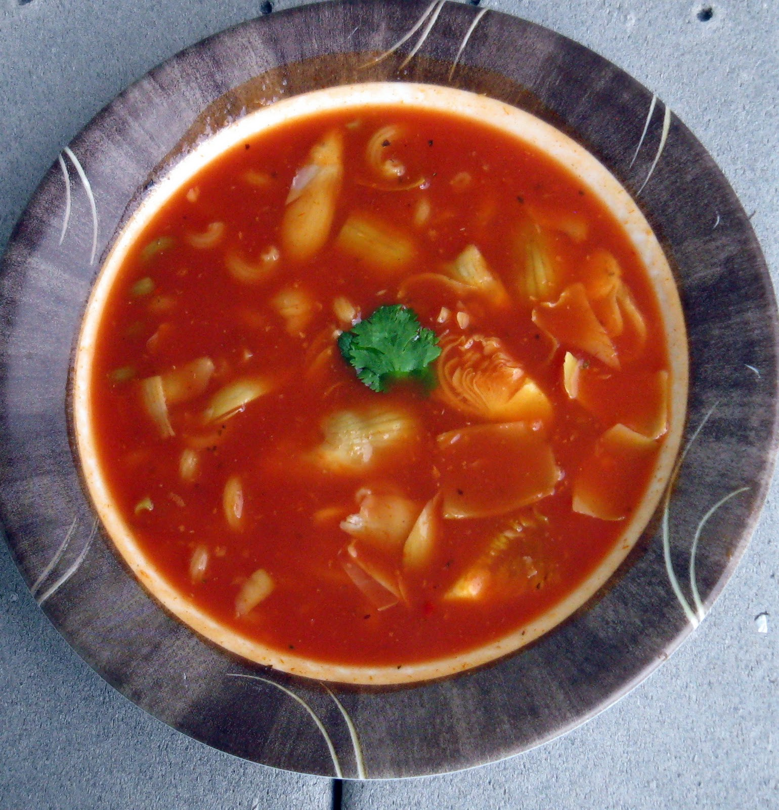 Happy Insides: Our Soup (Spicy Tomato Soup)