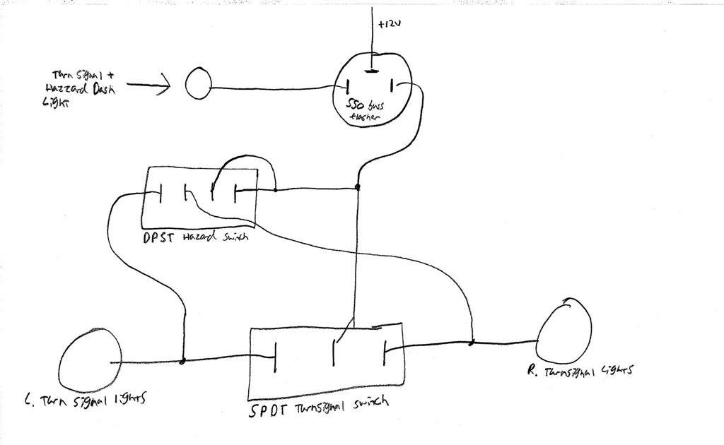 Corso Family Cobra Build  Turn Signal  Hazzards Wiring Diagram