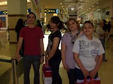 LIZE, FABIO, BRUNA E GABRIEL FAMILA DE DEUS