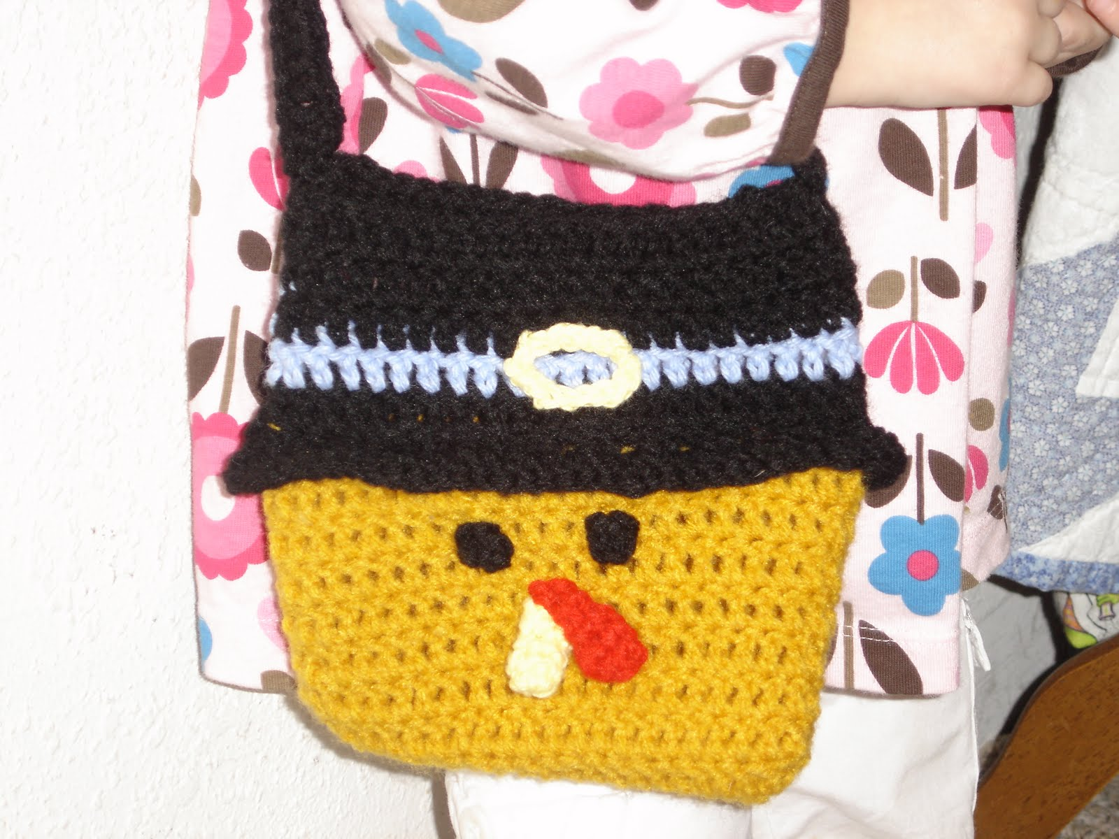 Pam\'s Crafty Creations: Crochet - Turkey Purse