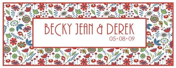 Becky Jean & Derek