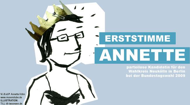 Erststimme Annette