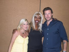 Tori Spelling and GloZell