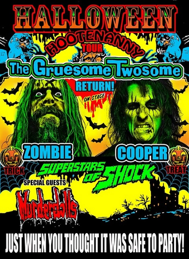 concert review cooper zombie help halloween come early to ct - Rob Zombie Halloween Music