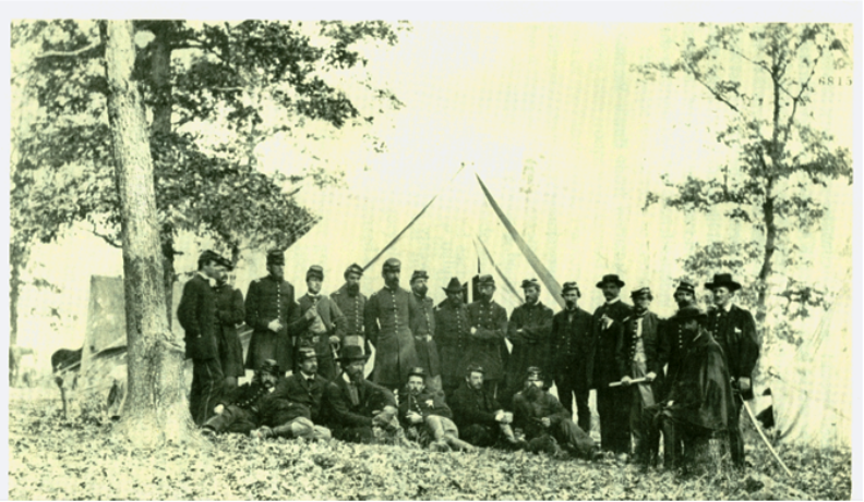 On General McClellan's Staff - October 1862