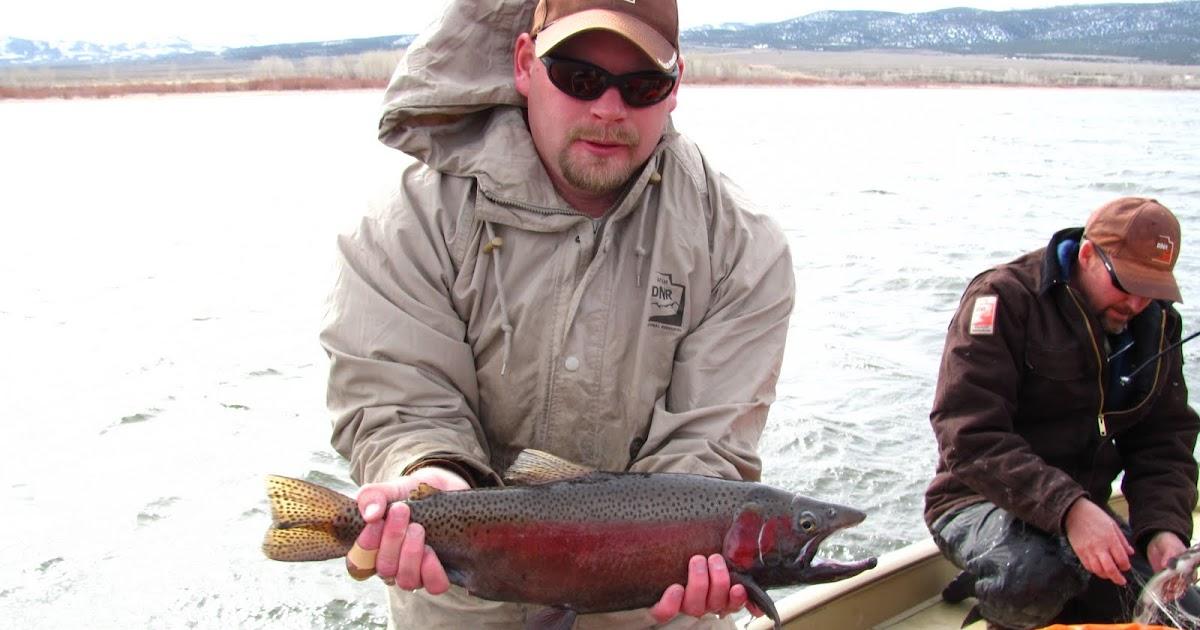 Backcountry utah 39 s outdoor adventure journal melting ice for Northern utah fishing report