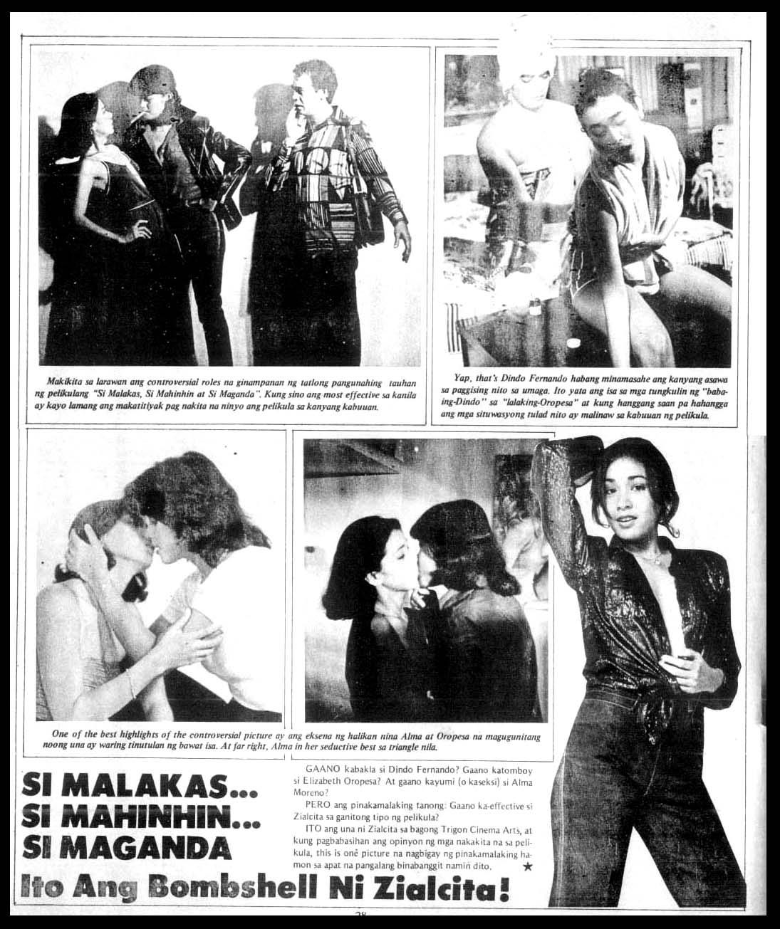 ALMA MORENO MOVIES 1980