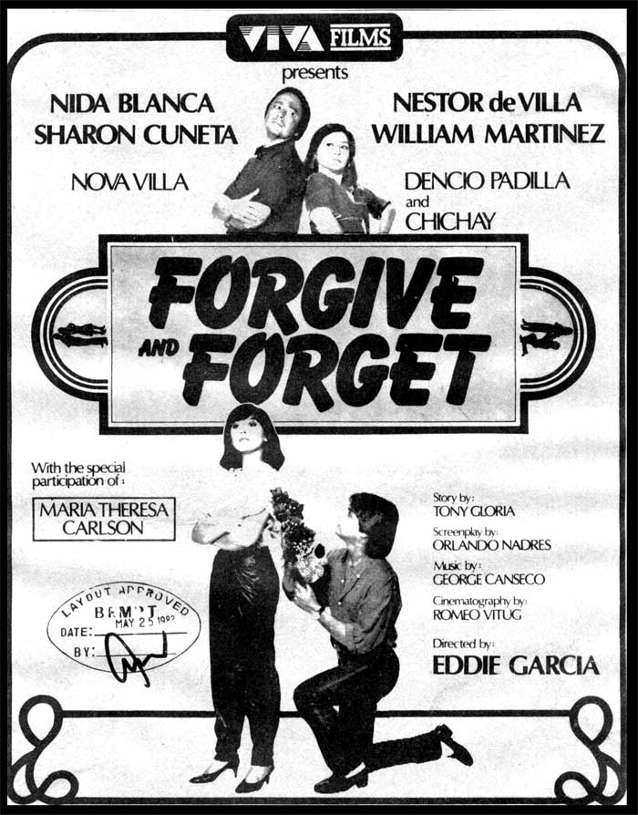 Forgive And Forget. Forgive and Forget (1982)