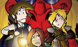 Geeks Next Door Dungeon Mastering comic team up