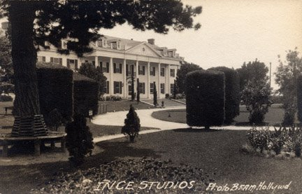 (Video)  A Tour Of The Tom Ince Studios, 1920
