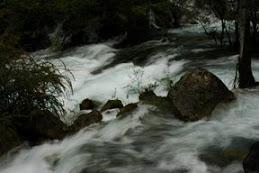 Free-flowing water