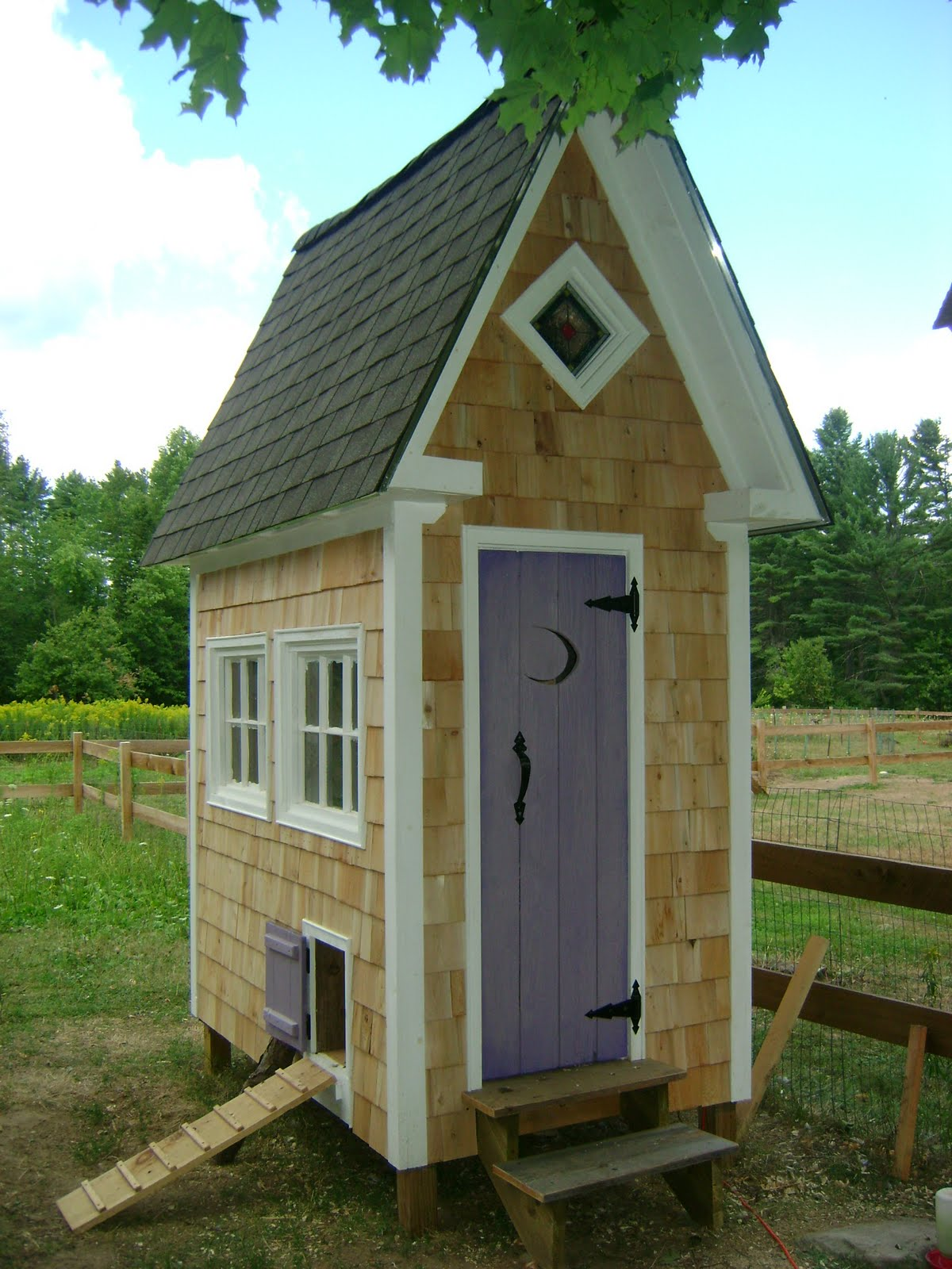 jeffrey balaschak artisan of wood chicken coop