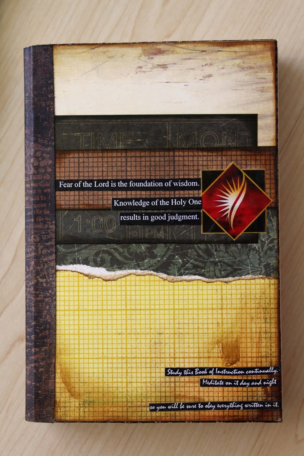 How to make scrapbook for husband - Tuesday May 11 2010