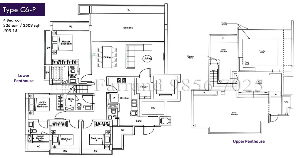 The Beverly Floor Plans