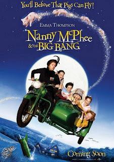 Filme Poster  Nanny Mcphee e as Lições Mágicas DVDRip RMVB Legendado