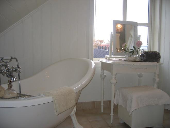 Badet på loftet
