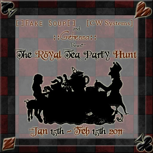 The Royal Tea Party Hunt