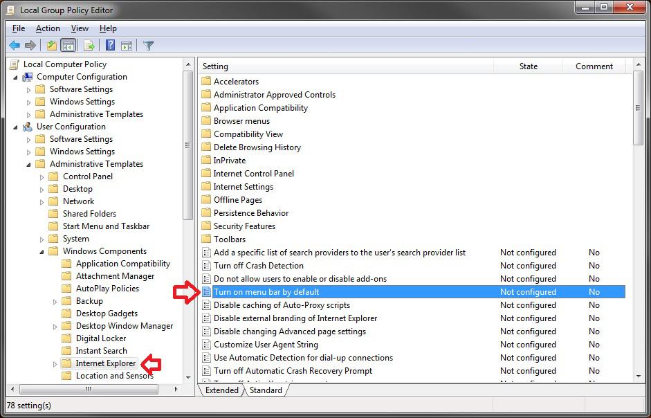 Internet Explorer 9 Compatibility Mode