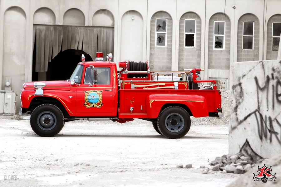 I Ll Sleep When I M Dead Vintage International Fire Truck
