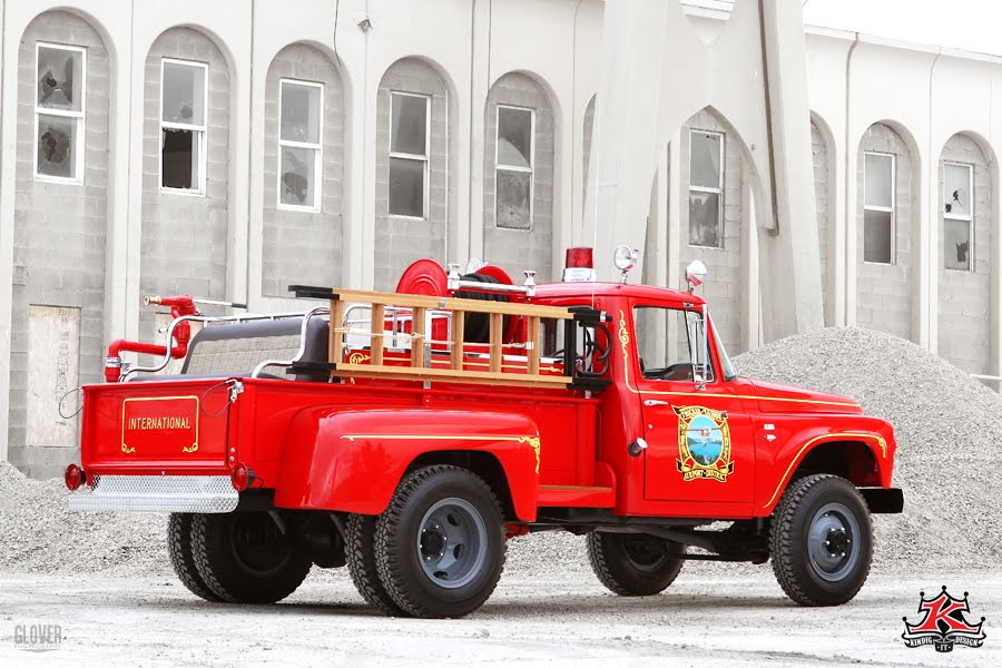 I Ll Sleep When I M Dead Vintage International Fire Truck