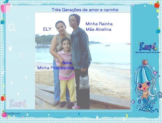 Três Gerações de amor e carinho