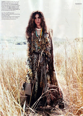 grazie magazine boho photo shoot
