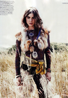 bohemian fashion shoot Bambi Northwood Blyth