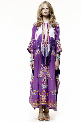 emilio pucci resort 2011 maxi dress